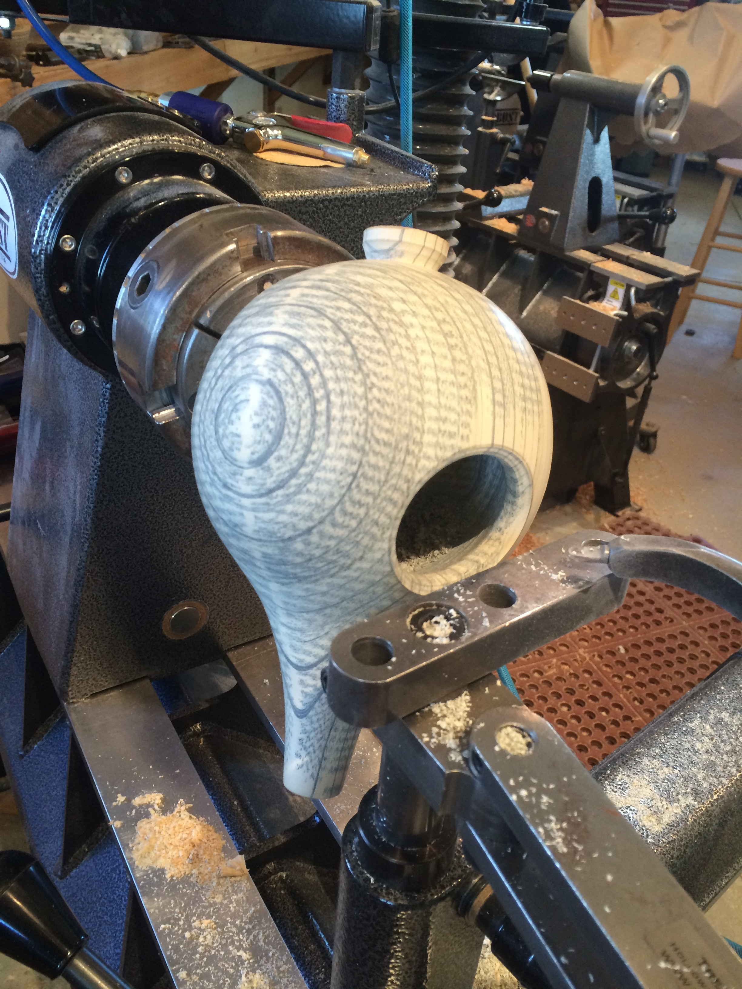 teapot hollowing