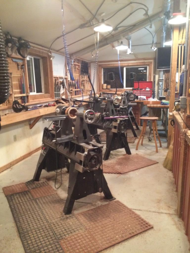 Woodturning Shop