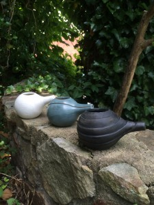 The start to a couple of teapots from my week at Arrowmont.
